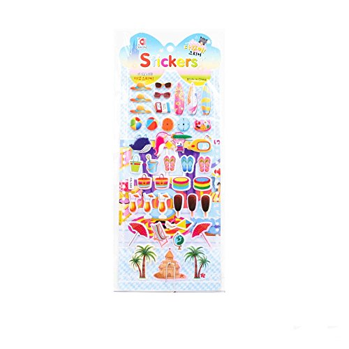 Preisvergleich Produktbild Viele Sticker mit Motiven aus dem Urlaub