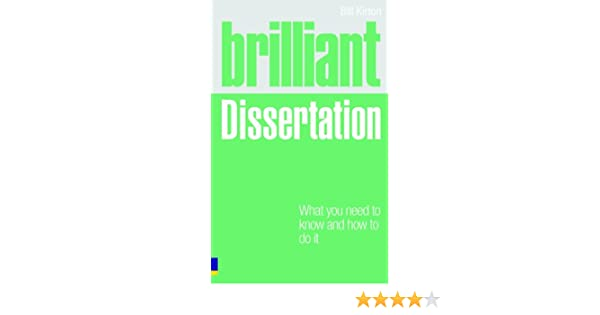 Bill kirton brilliant dissertation how to write a application for admission at school