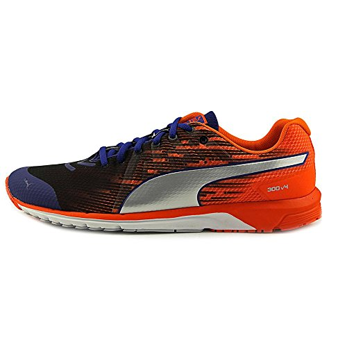 Puma Faas 300 v4 Maschenweite Laufschuh Sodalite Blue-Orange-Silver