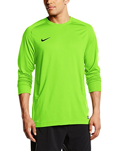 Nike Herren Goalkeeper Jersey Park II Longsleeve, Electric Green/Black, S