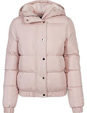 Urban Classics Ladies Hooded Puffer Jacket, Chaqueta para Mujer