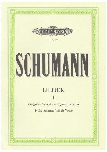 Lieder Volume 1 - VxH/Po par Schumann R