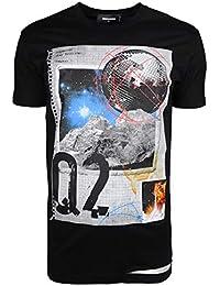 46b0acb11736 Amazon.co.uk: DSquared - Tops, T-Shirts & Shirts / Men: Clothing