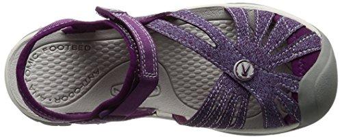 Keen Rose W, Sandales Plateforme Femme Violet (Dark Purple/purple Sage)