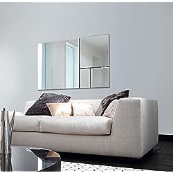 Casa Padrino espejo de pared de lujo 95 x H. 154 cm - Accesorios de Salón de Diseño