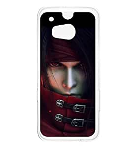 a AND b Designer Printed Mobile Back Cover / Back Case For HTC One M8 (HTC_M8_1090)