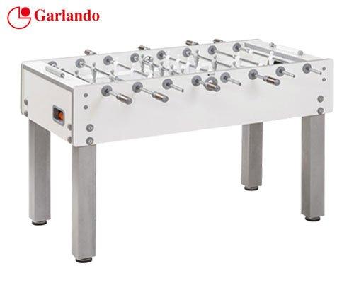 Garlando Calcio Balilla G-500 Con Aste Rientranti Bianco