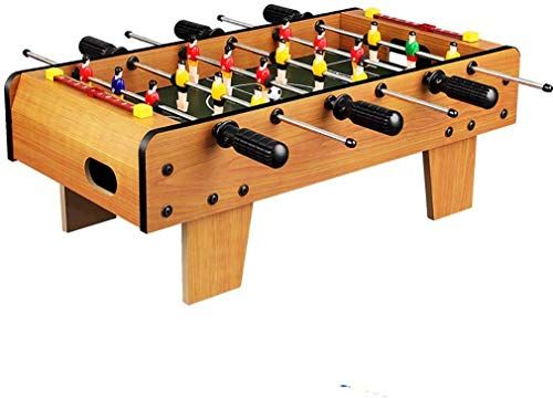 AK Table Top Football-Spiel, Spaß Tabelle mit den Beinen Fußball-Tabelle, Indoor & Outdoor Fussball Spiel Geschenke Inklusive 18 Männer, 2 Bälle, 2 Scorer - 50X 45X 18 cm