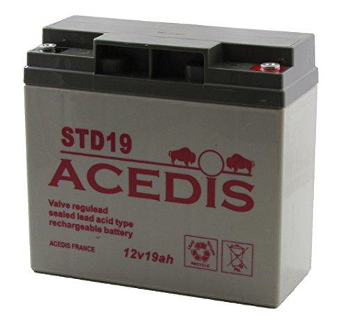 Batterie à décharge Lente AGM STD 19 amp