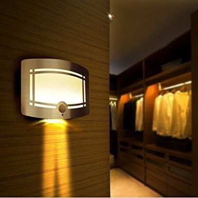 avantek luce notturna 10 leds lampade notturne magnetico lampade con sensor movimento con. Black Bedroom Furniture Sets. Home Design Ideas