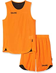 Spalding Teamsport Double Face, Conjunto Sport para Niños, Multicolor (orange/noir)