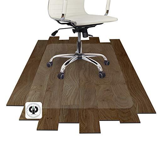 Performa® Antistatik Bodenschutzmatte für Parkett, Laminat, Fliesen, PVC und Steinböden (120x150 cm)