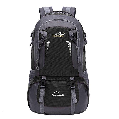 Outdoor Sport Bergsteigen Rucksack Laptop Tasche Reise Daypack Black