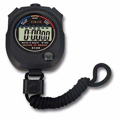 RETUROM Alarma impermeable LCD digital Cronómetro Cronógrafo Indicad
