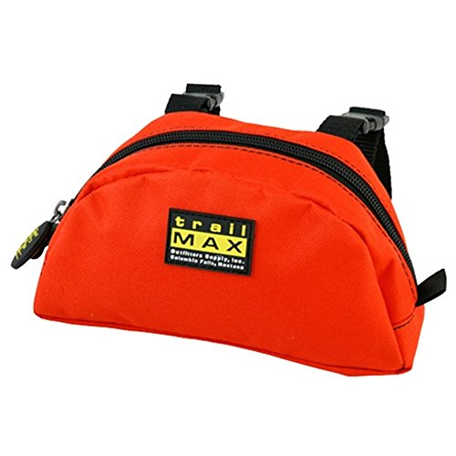 trailMAX Pommel Pocket. Satteltasche Western Packtasche orange