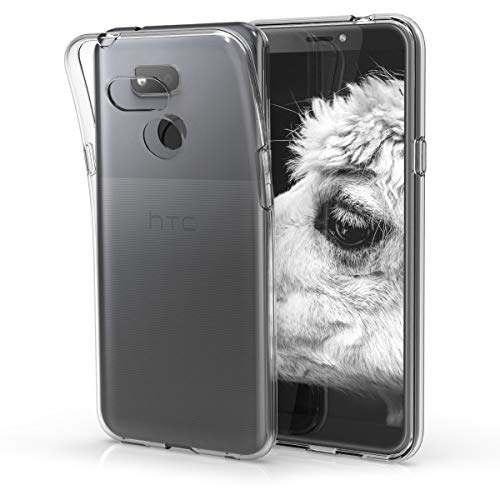 kwmobile HTC Desire 12s Hülle - Handyhülle für HTC Desire 12s - Handy Case in Transparent