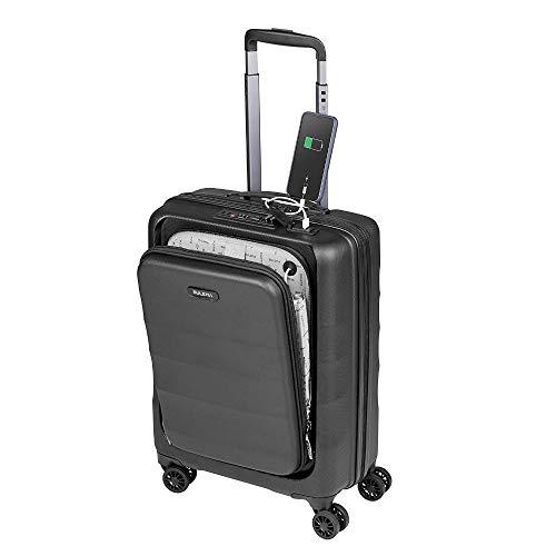 Valigia bagaglio a mano 55x40x20 porta PC Trolley Cabina Bagaglio Rigido e Leggero 4 Ruote Doppie Giro 360º Lucchetto TSA Sulema USB valigia media american tourister/ryanair