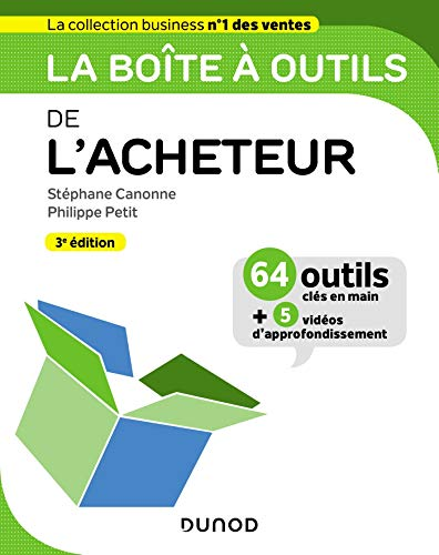 La boîte à outils de l'Acheteur - 3e éd. par Stéphane Canonne,Philippe Petit