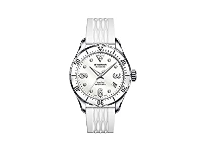 Eterna Lady KonTiki Diver Automatic Watch, SW 200-1, Ceramic, 38mm, Special Ed