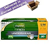 Best Depend Mens Underwear - Depend?Protective Underwear Men Small / Medium 80 Count Review