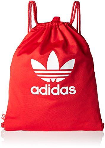 adidas Erwachsene Gymsack Tricot Sportbeutel Core Red 37 x 47 cm