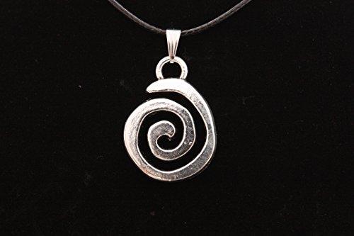 Colgante Celta en Zamak metalizado y Acero, Espiral