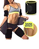 ADA Waist Trimmer Belt Slimming Neoprene Ab Belt Trainer for Faster Weight Loss