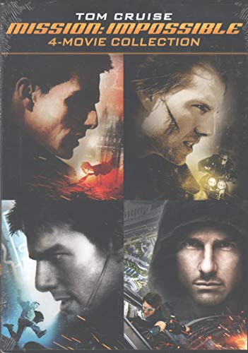 Tom Cruise: Mission Impossible 4-Movie Collection - Mission: Impossible / Mission: Impossible 2 / Mission Impossible 3 / Mission Impossible - Ghost Protokoll