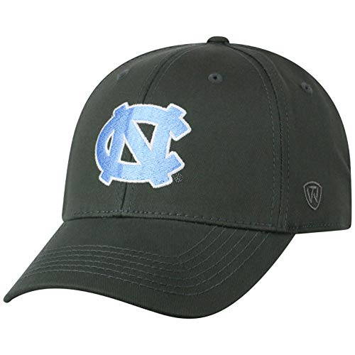 finest selection e46e1 99800 Top of the World Herren Mütze NCAA Fitted Charcoal Icon, Herren, NCAA Men s  Fitted