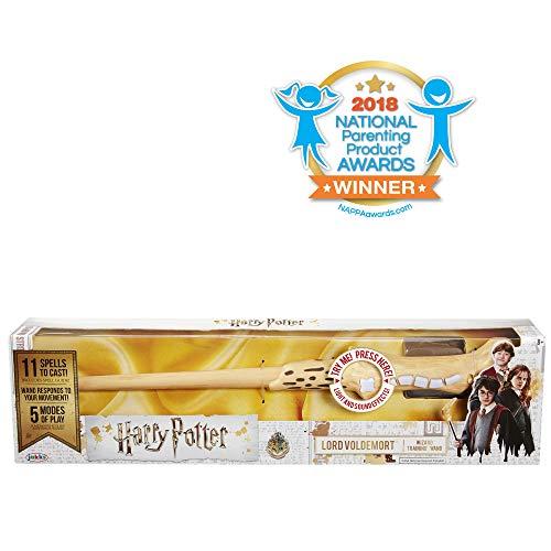 HARRY POTTER 39837 Voldemort's magischer Zauberstab mit Funktion, 38 cm, ()