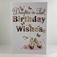 Nigel Quiney Daughter in Law Birthday Wishes Card - Shoes
