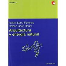 Arquitectura y energía natural (Arquitext)