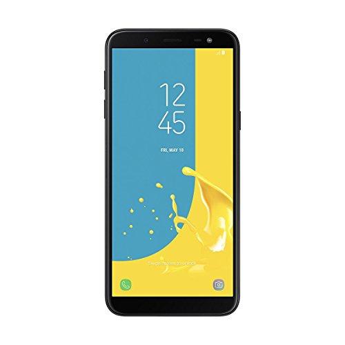 Samsung Galaxy J6 - Smartphone de 5.6', 4G, wifi, bluetooth, octa core 1.6 GHz, memoria interna de 32 GB, 3 GB de RAM, cámara trasera de 13 MP, android 8.0, color negro  [Versión española]