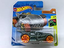 2019 Hot Wheels T-Rextroyer Grey 3/5 Dino Riders 89/250 (Short Card)