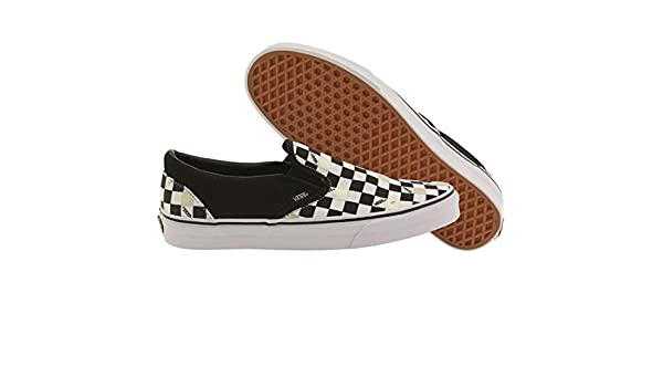 Classic Slip-On Classic 50th black gold checkerboard, Groesse:47.0 EU / 13.0 US / 11.5 UK Vans
