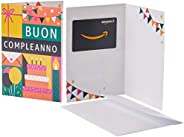 Buono Regalo Amazon.it in un biglietto d'au