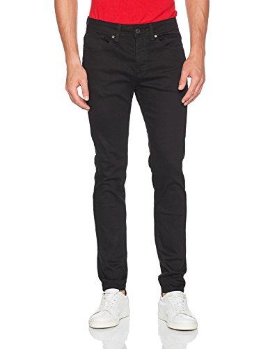 SELECTED HOMME Herren Skinny Jeans Schwarz (Black)