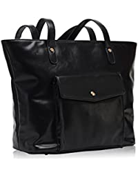 Hynes Victory Chic Handbag Purses Large Tote Bags For Women Black