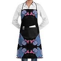 apnzll Eeyore Wallpaper (5545) Bib Kitchen Apron, Cooking Apron, Chef Aprons, Apron for Women, Apron for Men, Durable, Machine Washable, Comfortable by apnzll