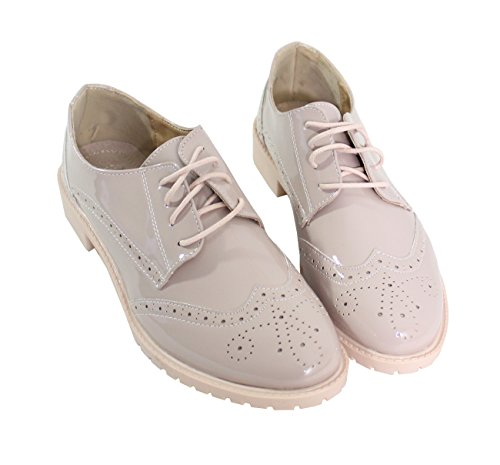 By Shoes - Chaussure Plate Style Derby - Femm