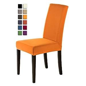 scheffler home sofie stuhlhussen 2 st ck stretch hussen stuhl bezug bi elastische. Black Bedroom Furniture Sets. Home Design Ideas