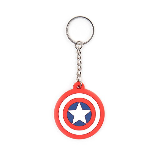 Marvel Comics - Captain America Schild Logo - Rubberen Sleutelhanger