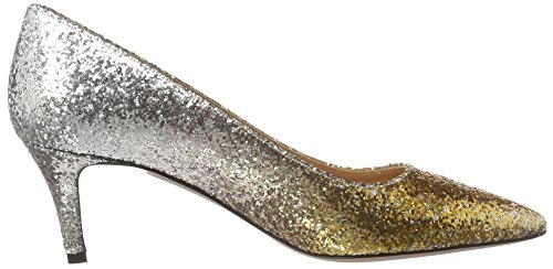 Oxitaly - Sara 100, Scarpe col tacco Donna Gold (Oro)