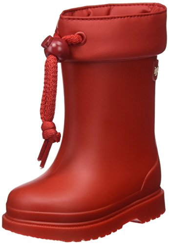 Igor Chufo Cuello, Botas de Agua Unisex niños, Rojo (Red), 24 EU