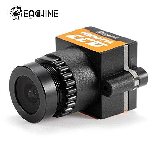 EACHINE 1000TVL FPV Camera 1/3 CCD 110 Degree 2.8mm Lens NTSC PAL Delle Barre Color entregado al azar