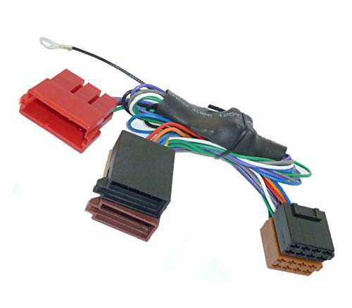 Aktiv System Radio Adapter für Audi A2 A3 A4 B5 A6 A8 TT Bose DSP Kabel 100W (Car Audio Lautsprecher 8 Pioneer)