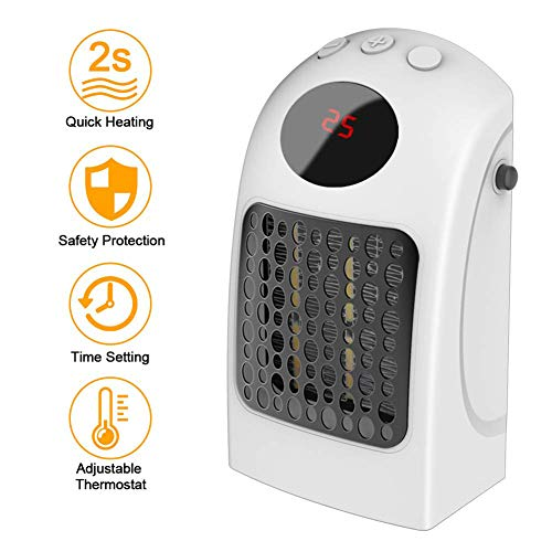 Mini calefactor eléctrico de cerámica