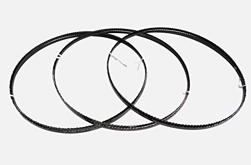 Preisvergleich Produktbild 3 x Sägebänder Sägeband 2240 x 6 x 0,65 mm 6 ZpZ Holz Elektra Beckum Einhell