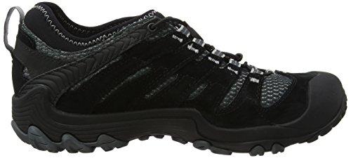 Merrell Cham 7 Limit Stretch, Stivali da Escursionismo Uomo Nero (Black)