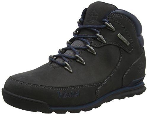 Timberland Herren Euro Rock Hiker Chukka Boots, Grau (Forged Iron Nubuck C64), 46 EU Mid Cut Hiker Boot